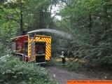 BUND dankt Feuerwehr Oberursel, Thorsten Schorr und dem Landkreis für schnellste Rettung eines Teiches mit allen seinen Bewohnern