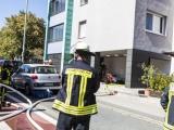 Feuer im Keller: Schaden wird auf circa 50 000 Euro geschätzt