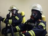 1. Durchgang in der eigenen Atemschutzstrecke